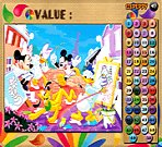 Mickey and Friends Coloring Math Game