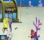 Sponge Bob Squarepants Anchovy Assault