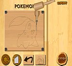 Wood Carving Pokemon