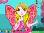 Beautiful Butterfly Girl