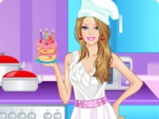 Chef Barbie Dress Up