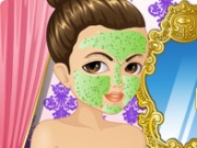 French Princess Facial Makeover