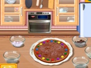 Sara's Cooking Class – Chocolate Pizza