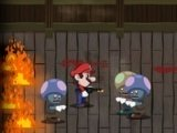 Mario Vs Zombies Halloween edition Hacked