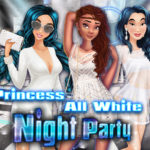 Princess All White Night Party